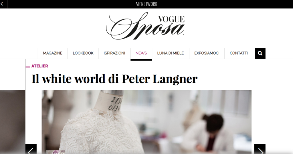 Il white world di Peter Langner